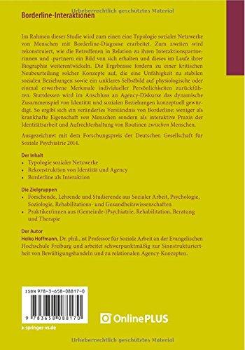 Borderline-Interaktionen: Komplexe Verflechtungen der Agency in ...