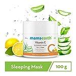 Mamaearth Vitamin C Sleeping Mask, Night Cream For Women, for Skin Illumination – 100 g