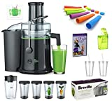 Joe Cross Juicer Bundle - Ultimate Juicing Starter Pack with 18 Included Accessories