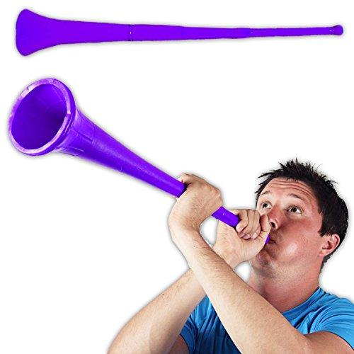 Purple Stadium - Windy City Novelties Vuvuzela Collapsible Stadium Horn Noise Maker - 28