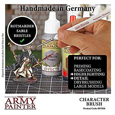 The Army Painter Wargamer Character Brush: Toys & Games