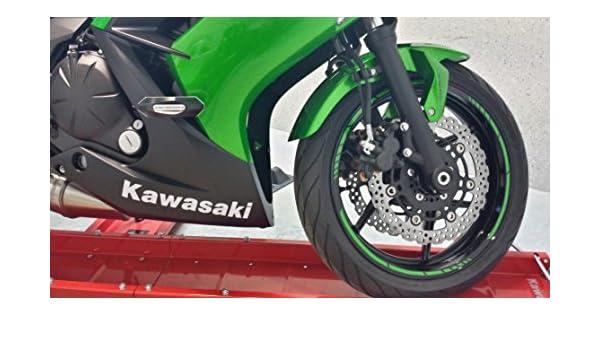2 x para Kawasaki Ninja 650R Logo Decal Pegatinas Texto 650 ...