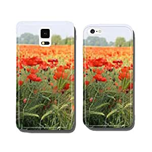Roggenfold barley field with poppies cell phone cover case iPhone5