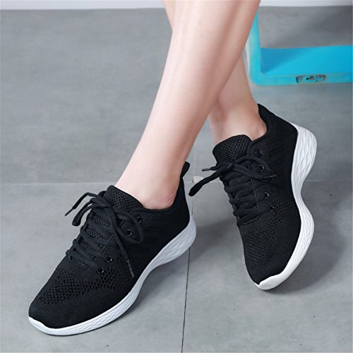 Donna Fitness Gym Sportive da 3 amp;BOY Nero Sneakers ALI Scarpe Ginnastica Shoes Running UwRHgq
