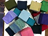 Knit/knitted Cuff, Rib Knit Fabric Cuff Assorted Colors - Material for Making Cuffs, Collars and Waistbands, Etc - 10 Pairs/20 Pcs