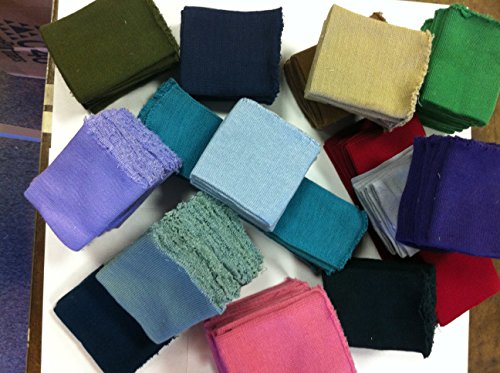 Knit Rib Material (Knit/knitted Cuff, Rib Knit Fabric Cuff Assorted Colors - Material for Making Cuffs, Collars and Waistbands, Etc - 10 Pairs/20 Pcs)