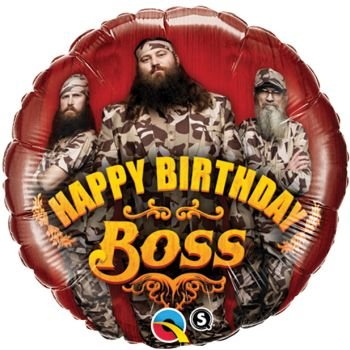 Dynasty Foils - Duck Dynasty Happy Birthday Foil Balloon-18