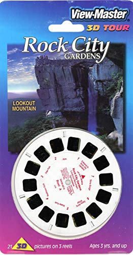Rock City Gardens, Lookout Mountain, Tennessee - Classic ViewMaster - 3 Reels on Card - New ()