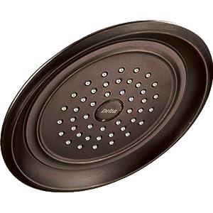 Delta Single-Spray Touch Clean Rain Shower Head, Venetian Bronze RP48686RB