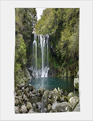 Minicoso Bath Towel cheonjeyeon no cascade cheonjeyoen falls means the pond of god consists of falls a diversification 288669884 For Spa Beach Pool Bath