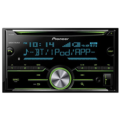 Pioneer Double DIN In-Dash Built-in Bluetooth, CD AM/FM MP3, Front USB, Pandora, iHeartRadio and Spotify, SiriusXM Satellite Radio Ready Car Stereo Receiver