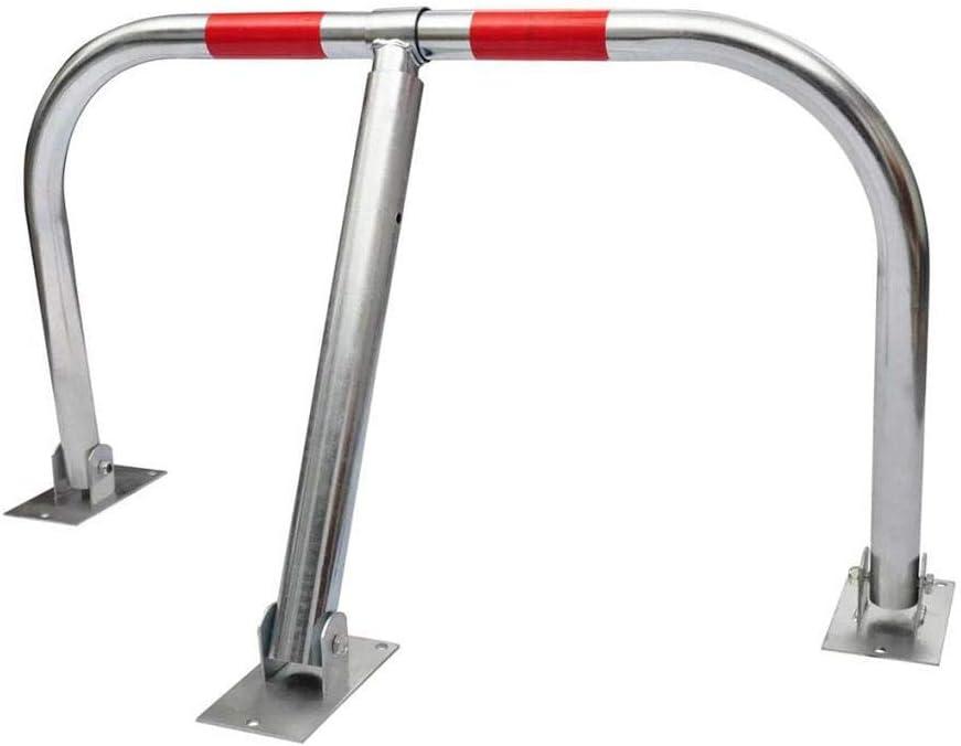 Inclinaci/ón r/ápida Barrera para plaza de parking//Barrera de Aparcamiento 5 x 80x 95 cm Acero con recubrimiento de cromo