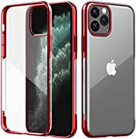 Designed for iPhone 11 Pro Case Clear Full Body Heavy Duty 360°Stylish Dual Layer Hard PC Back Shockproof Slim Wireless...