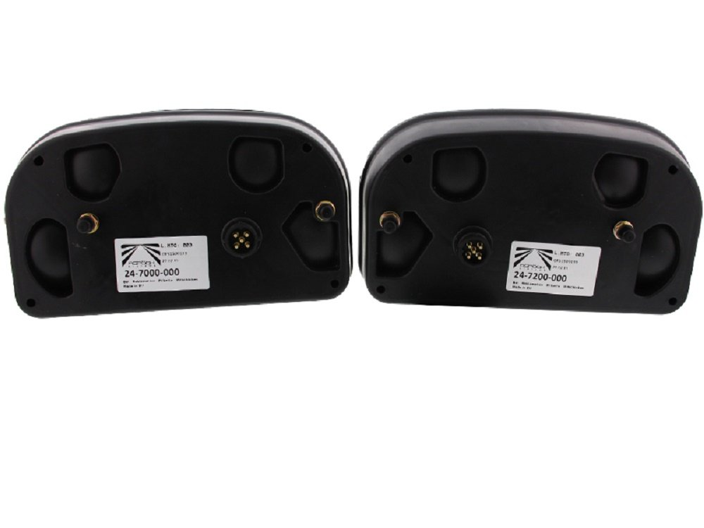 rechts links mit NSL The Drive -13404- Asp/öck Multipoint 2 II R/ückleuchten Satz 5m Anschlu/ßkabel 7-pol