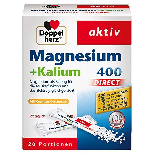 더블 하트 마그네슘 400 + 칼륨 직접 20 가방