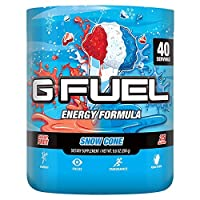 G Fuel Snow Cone (40 Servings) Elite Energy and Endurance Formula 9.8 oz.