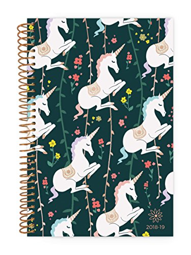 bloom daily planners 2018-19 Academic Year Daily Planner - Monthly and Weekly Datebook/Calendar Book - Inspirational Dated Agenda Organizer - (August 2018 - July 2019) - 6