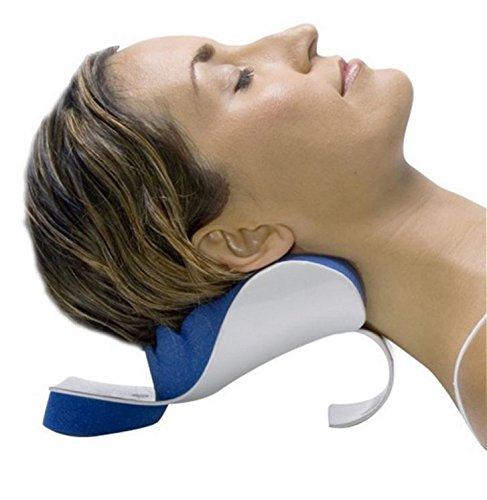 CHIROPRACTIC PILLOW - Cervical Pillow to help ease Neck Pain and Shoulder Pain and Provide relief by Easing Tension - Therapeutic and Helps Spine Alignment