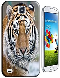 Tiger Case Cover Hard Back Cases Beautiful Nice Cute Animal hot selling cell phone cases for Samsung Galaxy S4 i9500 # 16