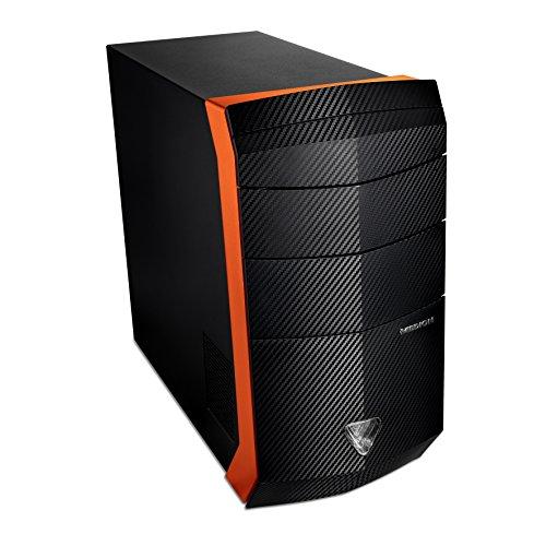 Medion Erazer X7734D - Ordenador sobremesa (AMD Ryzen7 1700X, 16GB de RAM, HDD de 1TB + SSD de 120GB, NVIDIA...