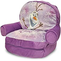 Frozen Kids Novelty Chair with Storage Compartment