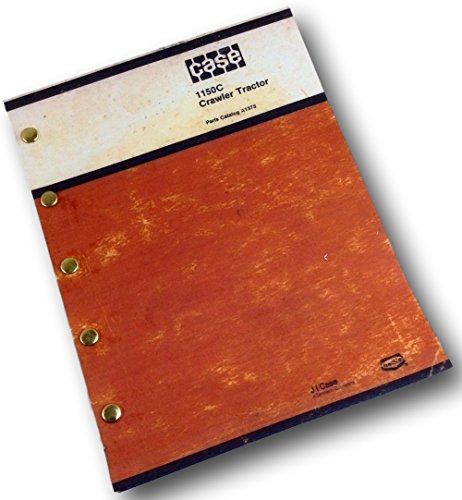 (J I Case 1150C Crawler Tractor Bulldozer Parts Catalog Manual A1373 Dozer )