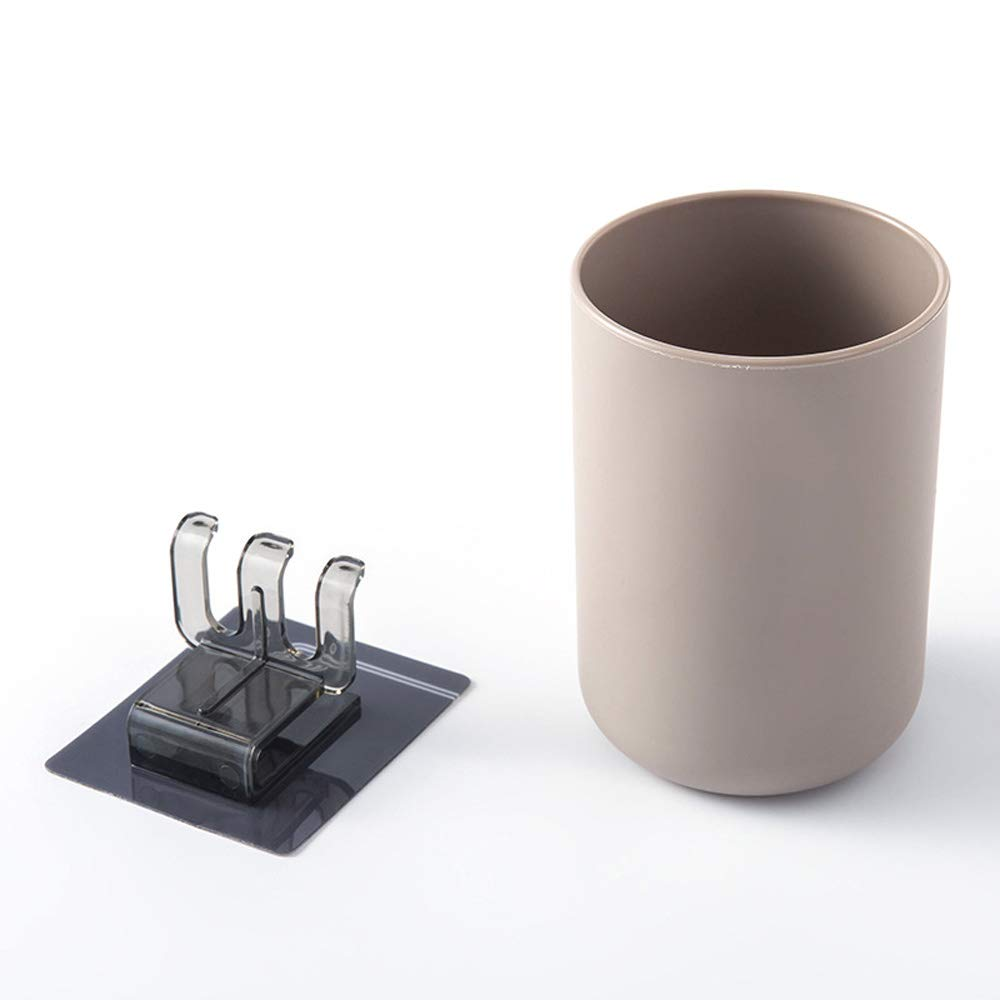 Organizador de Cepillo de Dientes montado en la Pared con g/árgaras MZY1188 Portacepillos de Dientes ventosas de Pared Conjunto de Accesorios de ba/ño para maquinilla de Afeitar