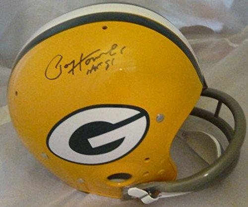 Paul Hornung Autographed Green Bay Packers Full Size TK helmet HOF (Paul Hornung Signed Helmet)