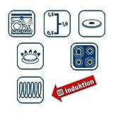 ELO 45902 Classic Color 7-Piece Cookware Set, Cool Grey