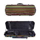 Tonareli Viola Oblong Fiberglass Case - Special Edition Malibu VAFO 1004 - Includes attachable music bag - Adjustable to over 18 inches