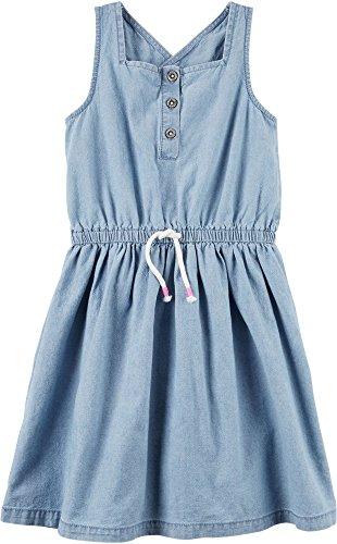 Carter's Girls' 2T-4T Chambray Dress 2T