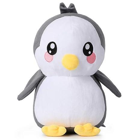 corimori Pablo el Pingüino Animal de Peluche Juguete para Bebés y Niños, 26cm, Negro