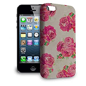 Phone Case For Apple iPhone 5 - Grunged Roses Snap-On Slim