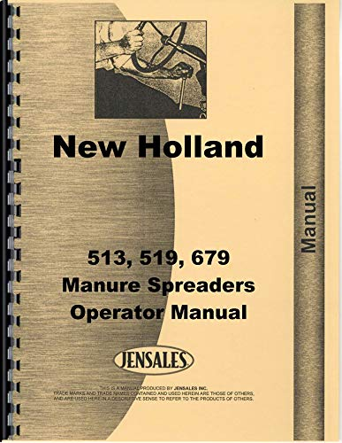 New Holland 679 Manure Spreader Operators Manual by Jensales