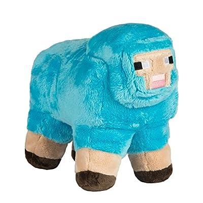 "JINX Minecraft MINECON Earth 2017 Sheep Plush Stuffed Toy, Turquoise, 10"" Long"