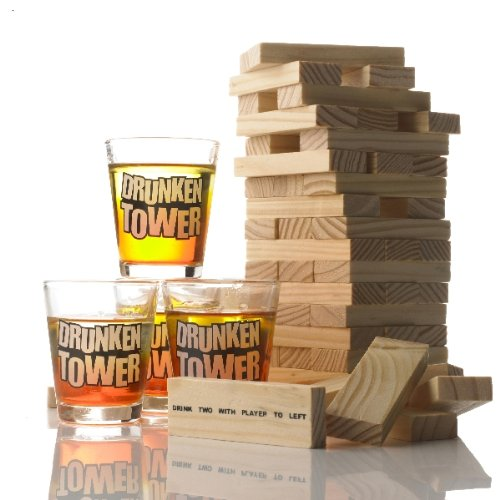 Drinking Game: Tipsy Tower by The Discovery Store