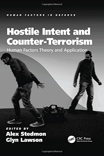 Hostile Intent and Counter-Terrorism: Human Factors Theory and Application (Human Factors in Defence)