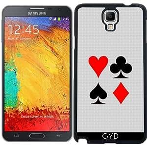 Funda para Samsung Galaxy Note 3 Neo/Lite (N7505) - Jugar Juegos De La Tarjeta by hera56