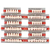 Angzhili 84 Pcs Dental Complete Acrylic Resin