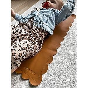 ARROWS Vegan Leather Baby Changing mat (Brown)