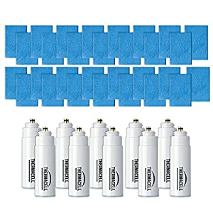 ThermacellR-10 Mosquito Repeller Refill,120 HourMega Pack (30 Repellent Mats and 10 Fuel Cartridges)