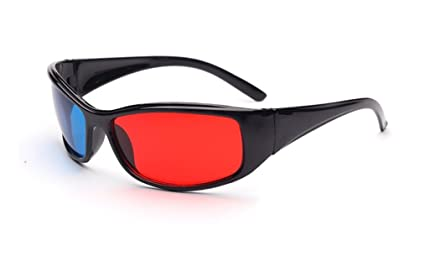 eccff21fabe Glasses Direct-3D Glasses -3D Vision Ultimate Anaglyph 3D Glasses - Made To  Fit