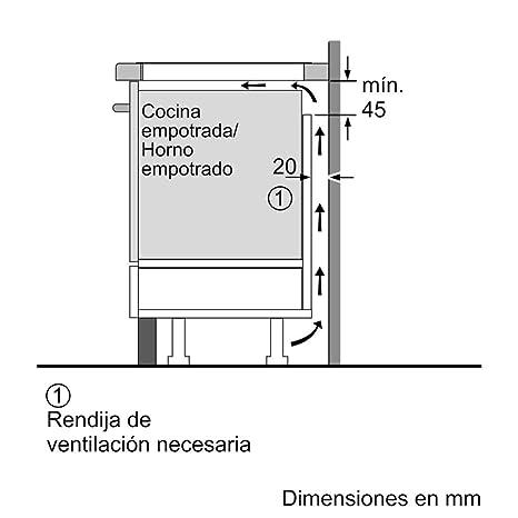 Balay 3EB865FR - Placa de inducción de 60 cm de ancho, bisel ...