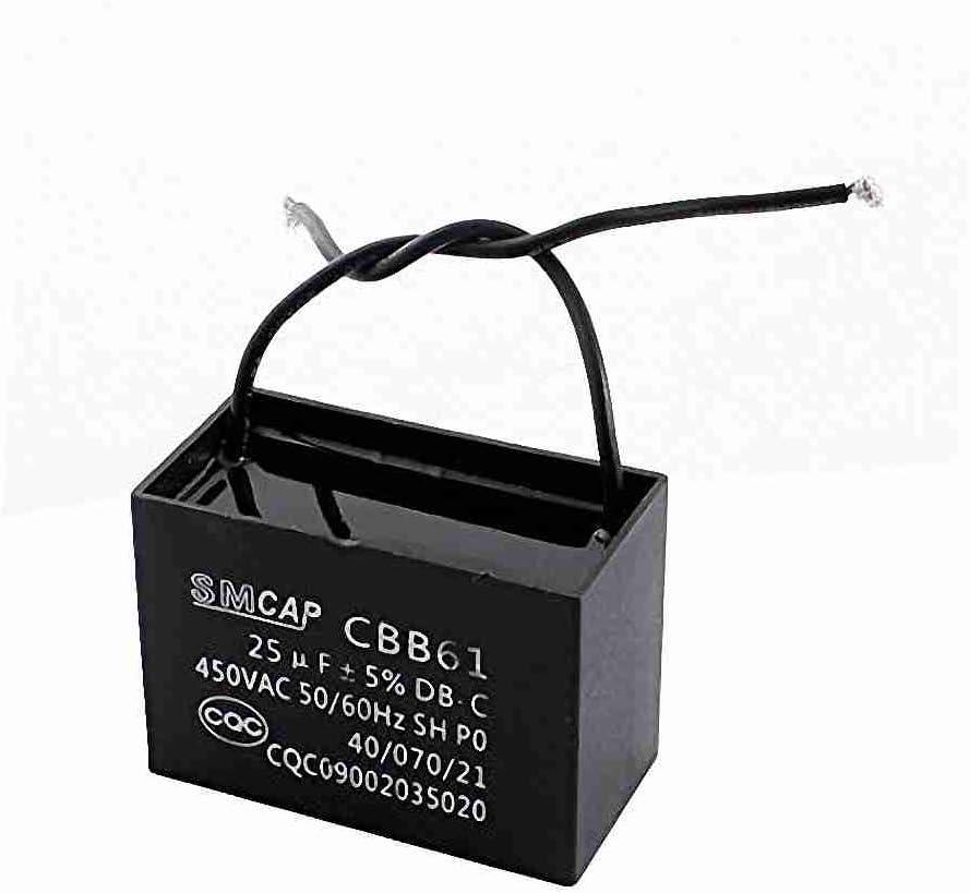 Move & Moving (TM) AC 450 V 25uF de dos cables de conexión ...