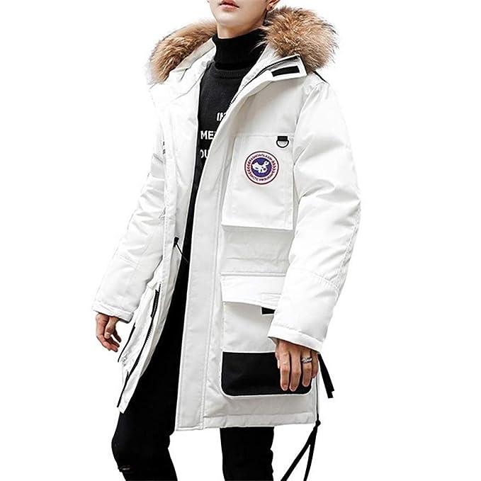 Amazon.com: Wehor - Chaqueta de invierno con capucha y ...