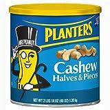 Planters Cashews Halves/Pieces - 46 oz. canister