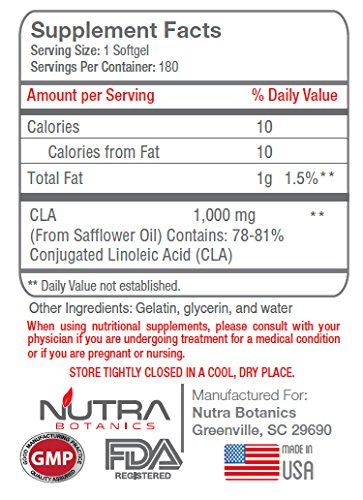 Nutra Botanics High Strength Liquid L Carnitine 5000 Mg, 16 Oz (473 ML) with CLA to support weight loss goals, Bundle