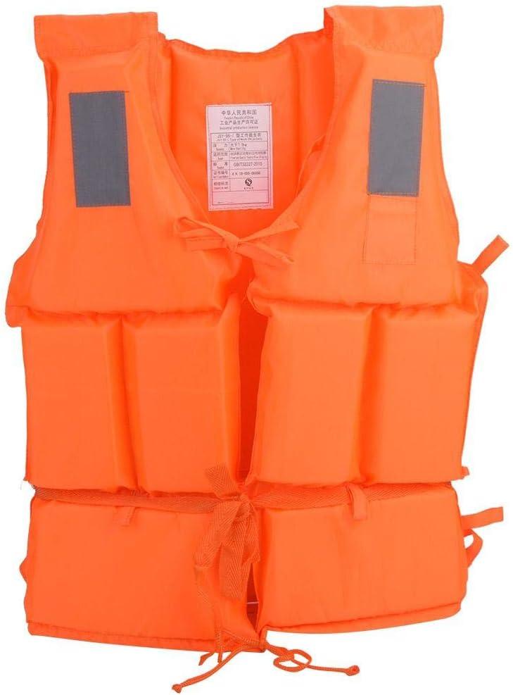 Life Jacket, Good Buoyancy Adult Floating Vest for Surfing, Boating & Swimming Paddle Sports Buoyancy Vest