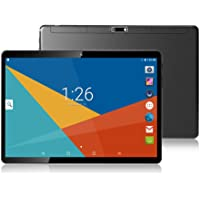 "Tablet 10 Inch (10.1""),4GB RAM,64GB ROM,Android 8.1,GPS,WiFi,USB,1280X800 IPS Screen,Octa Core CPU,2+8 MP Camera Computer PC (Black)"