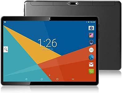 "Tablet 10 Inch (10.1""),4GB RAM,64GB ROM,Android 8.1,GPS,WiFi,USB,1280X800 IPS Screen,Octa Core CPU,2+8 MP Camera Computer PC (Black)"